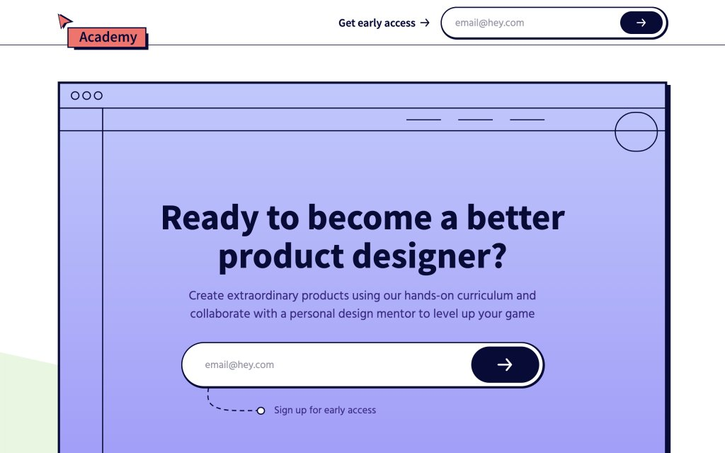 Screenshot of the website Figma Academy