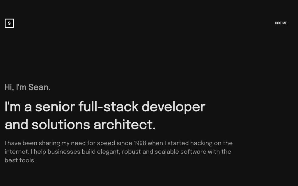 Screenshot of the website ghstcode