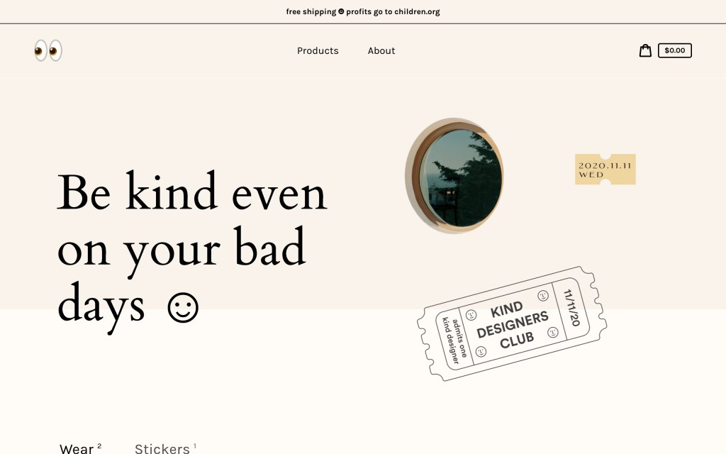 Screenshot of the website Mesh Times