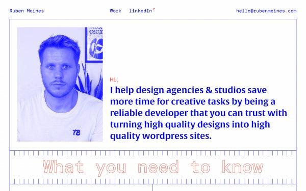 Screenshot of the website Explore featured websites
