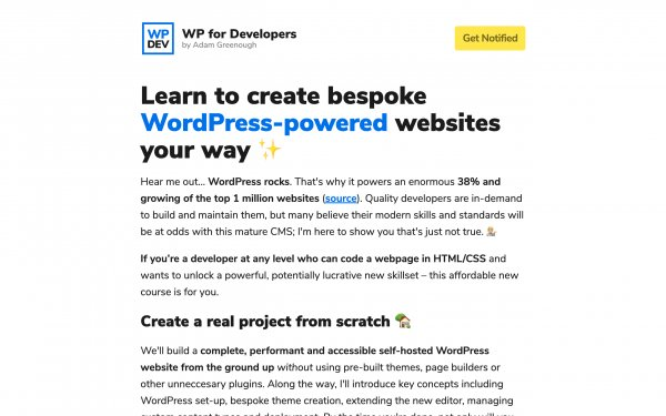 Screenshot of the website Explore featured websites